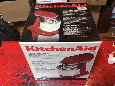 KitchenAid Stand Mixer Ice Cream Attachment (new In Box)