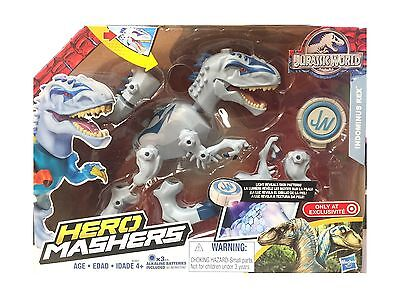 Jurassic World Hero Mashers Indominus Rex Action Figure By Univ    Free Shipping