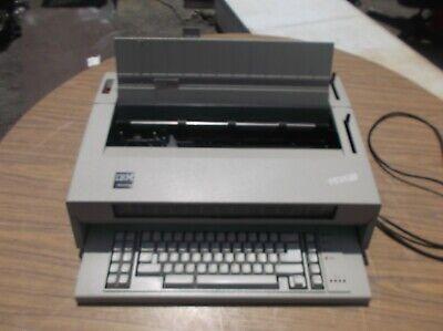 Ibm Wheelwriter 6 Works Well