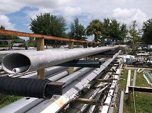 50 feet 9 inch Aluminum Sailboat Mast Extrusion (9.0