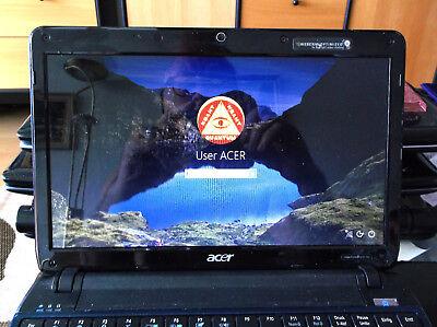ACER ASPIRE ONE 752 (AO752) Netebook Schwarz 11,6