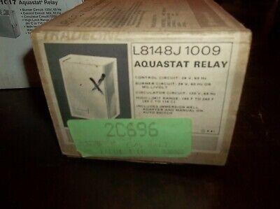Honeywell L8148j 1009 Aquastat Relay Furnace Control