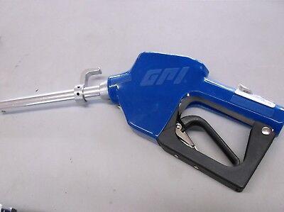 Gpi Blue Unleaded 34 Fuel Auto Shut Off Gas Pump Nozzle New