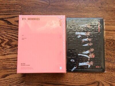 BTS Memories Of 2019 Official Bluray + Jigsaw Puzzle - No Photocard