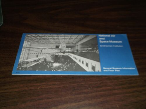 NATIONAL AIR AND SPACE MUSEUM BROCHURE