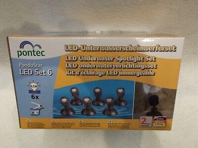 OASE PONTEC PONDOSTAR LED POND LIGHTS SET 6 UNDERWATER GARDEN LIGHTING