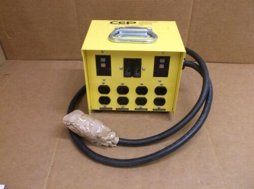 6503 GU CEP NEW 30A 125/250V Mini Portable GFCI Compact Power Box 6503GU