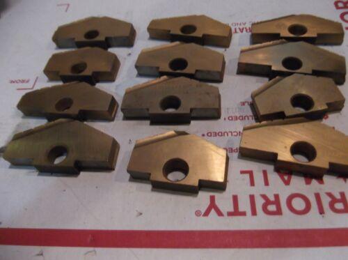 AMEC AME ASSORTED D   Spade Drill Bit Insert  LOT OF 12