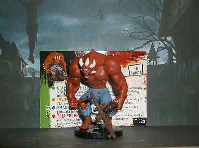 """HORRORCLIX Giant #039 """"NEW"""" W/CARD NIGHTMARES"""