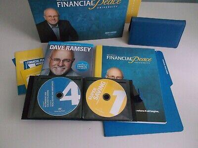 Dave Ramsey's Financial Peace University 15 DVD CD Set + Books & Envelope System