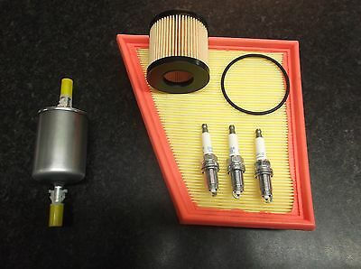 VW POLO 9N 2002 - 2005 1.2 SERVICE KIT OIL AIR FUEL FILTERS SPARK PLUGS