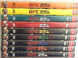 UFC Ultimate Collection VOL1-9 (DVD, 9 Volumes - 45 Discs) ALL NEW & SEALED