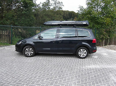 Premium Dachbox Malibu XL SILBER von Mobila stabile Dachbox und Surfbox
