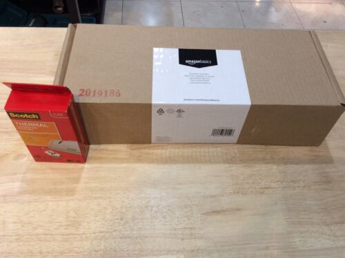 AmazonBasics Thermal Laminator With Scotch Thermal Laminatin