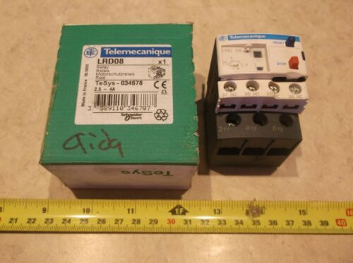 Telemecanique LRD08 Thermal Overload Relay, A0032