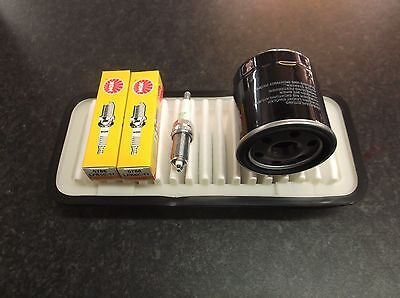 CITROEN C1 1.0 SERVICE KIT OIL AIR FILTERS & SPARK PLUGS NGK
