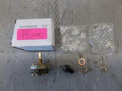 Electroswitch Rotary Snap Switch Wknob 31301a