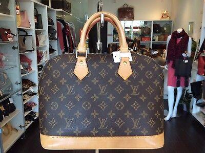 Louis Vuitton Monogram Alma Tote Purse Handbag Pick Up@LA (Louis Store)