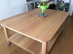 Huge solid Tas Oak table. Need gone, make me an offer. Battery Point Hobart City Preview