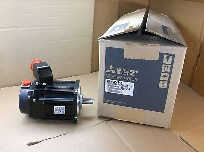 Hf-jp734k New In Box Mitsubishi 400v 750w Servo Motor Hfjp734k