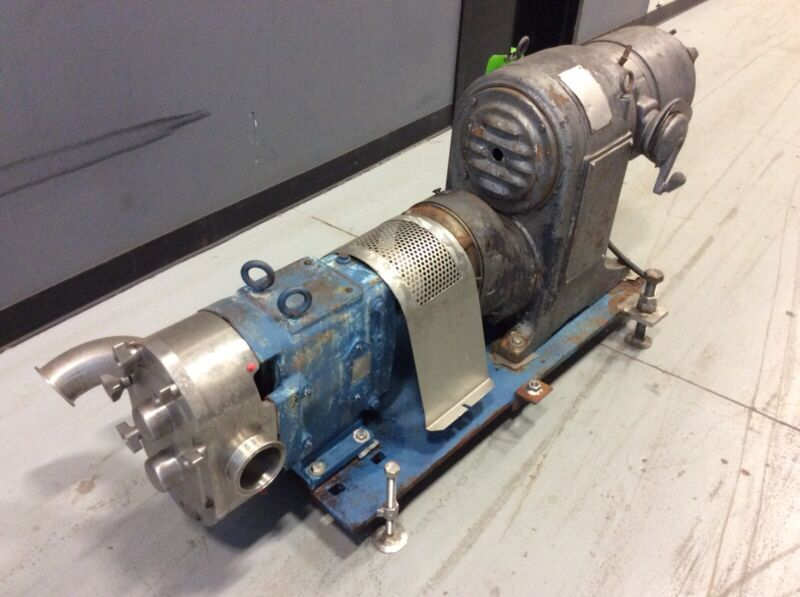 Wright Pump 1300 ROTARY POSITIVE DISPLACEMENT PUMP With US VariDrive Motor