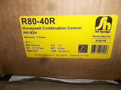Honeywell R8182h Triple Aquastat Protectorelay Controller R80-40r