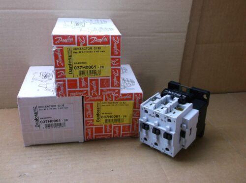 037H0061-28 Danfoss NEW In Box 208-230VAC 32A Contactor Relay 037H006128