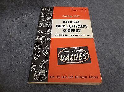National Farm Equipment Company 1967 Vintage Catalog Book Advertising 17316