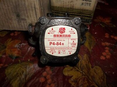 Suntec Fuel Oil Burner Pump A1v-b7013 Beckett Wayne Cw 1725 Rpm 7013 P4-84r