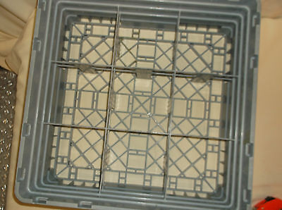 Cambro Commercial Dishwasher Tray Rack 19 3 4  X 19 3 4