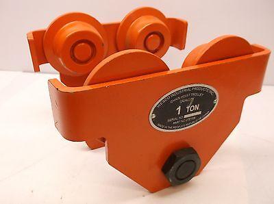 Wesco 108419-59-37 I-beam Trolley 2000 Lb. Capacity Orange C45j