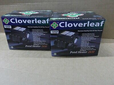 Cloverleaf Pond Heater 2 Kw fish koi pond