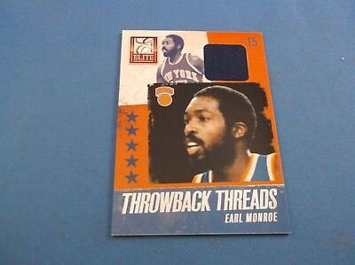 Earl Monroe Elite 13-14 Throwback Threads jersey Materials 6 for sale  Pearl City
