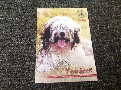 Tibetan Terrier 2016 Yearbook Issue 43 - The Tibetan Terrier Association Booklet