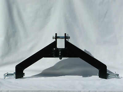 Tractor Attachment Three Point Hitch Blk Cat 2 Log Skidder Chain Hook Made Usa