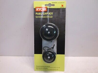 AC05FCK Ryobi Fuel Gas Cap With Tethers For Trimmers/Blowers-Homelite, Toro for sale  Shipping to India