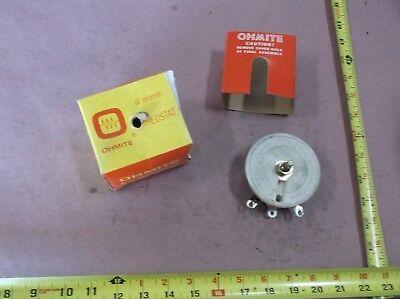 Ohmite Model K Rheostat 100w 50 Ohms