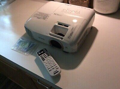 Epson PowerLite Home Cinema 2030 Full HD 3LCD Projector - White