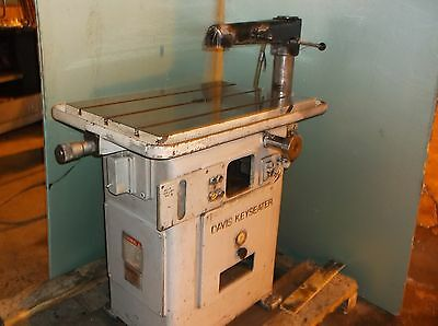 Davis 15 Keyseater Key Seater Keyseating Machine