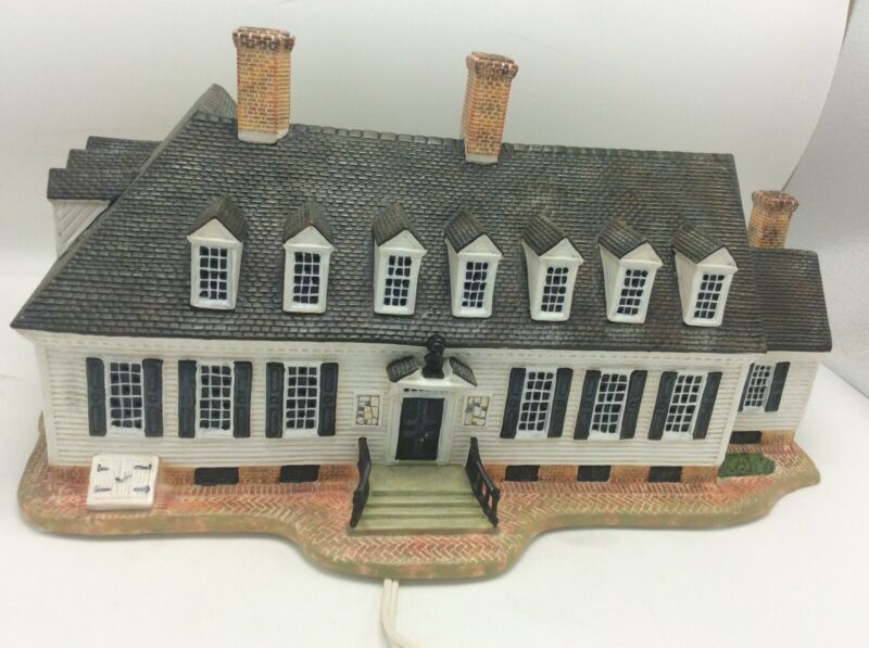 Lang & Wise Colonial Williamsburg Raleigh Tavern In Original Box
