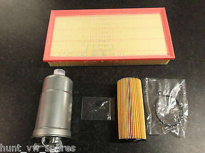 VOLKSWAGEN GOLF MK4 1.9 TDI PD SERVICE KIT OIL FUEL AIR FILTER ALCO - ALH AGR