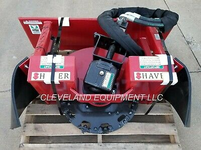 Shaver Sc-30 Stump Grinder Attachment 16-30 Gpm New Holland Skid Steer Loader