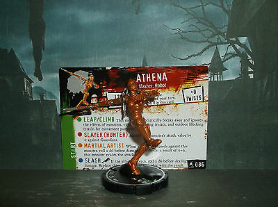 """HORRORCLIX Athena #086, Unique -Grey- W/CARDS The Lab"""""""