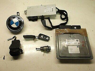 BMW E63 E64 6 SERIES M6 COMPLETE LOCK SET IGNITION KEY ECU DOOR BOOT BARREL CAS