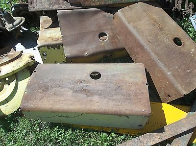 John Deere M Mt Mc 40 40c Belly Pan Hood Shield