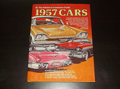 1957 Cars The Editors Of Consumer Guide Collectors Edition Aug 1980 Flashback
