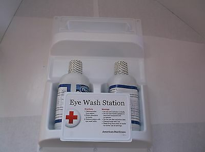 American Red Cross Eye Wash Station 2-32 Oz. Bottles 711005 T