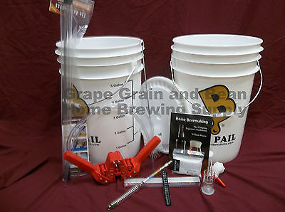 Brewers Best Home Brewing Equipment Kit, Beer Making Kit, Brewing Kit, Beer