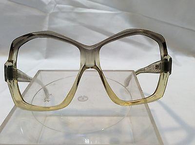 Vintage Oscar De La Renta Womens Eyeglass Frames Cool Dorky Nerdy Hip Glasses
