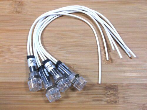 4 BBT Waterproof 120 volt White LED Hi-Profile Indicator Lights